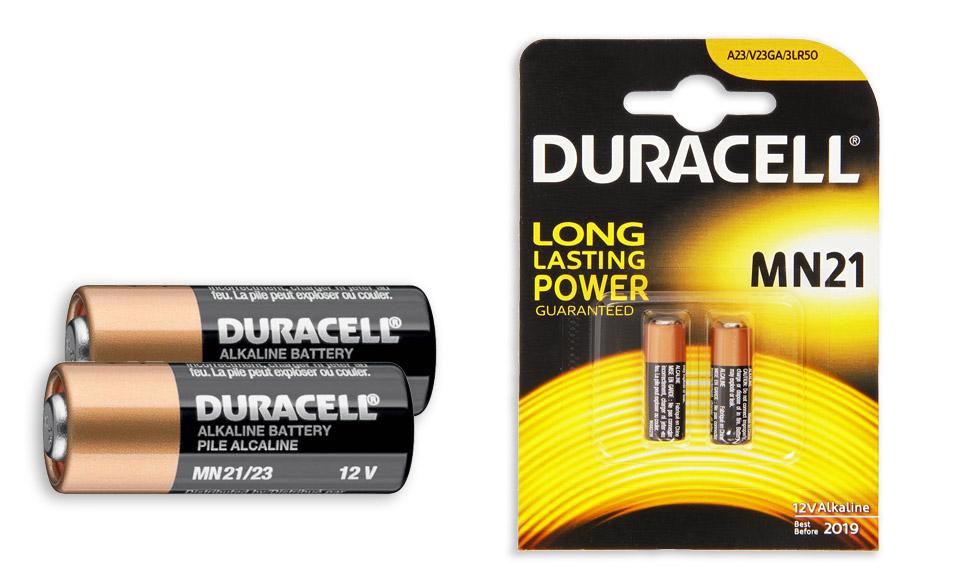2 pile duracell 12v a23 23a lr23a 8lr932 mn21 alcalina telecomando antifurto fx3 ebay - Pile 12v 23a ...