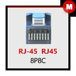 RJ45 (8P8C) Maschio